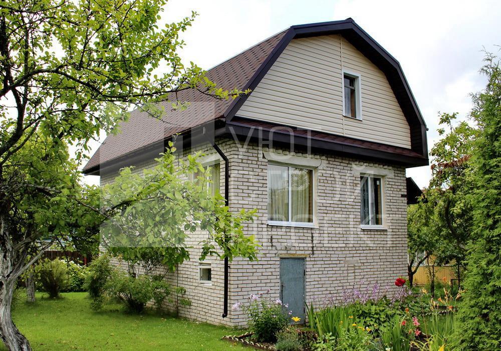 Замена металлочерепицы на мягкую кровлю на загородном доме